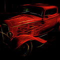 Hot Rod Red by Melvin Busch