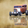 Hot Rod Reflection by Steve McKinzie