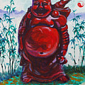 Hotai The Laughing Buddha by Judy Fischer Walton