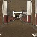 Hotel Hallway. by Robert Ponzoni