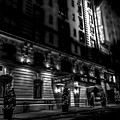 Hotel Metro, Nyc - Bw by James Aiken