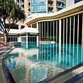 Hotel Swimming Pool by Darren Burton