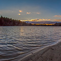 Houghton's Pond Sunset by Brian MacLean