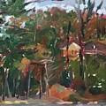 House Between Trees by Alejandro Lopez-Tasso