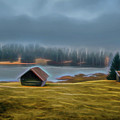 House By The Lake by Robert Manea