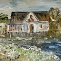House In Mendocino by Edward Wolverton