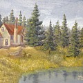 House In The Woods 2  by J O Huppler