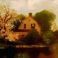 House Near The River. L B by Gert J Rheeders
