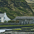 House Near Valencia Island Ireland by Larry Pegram