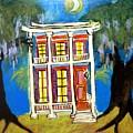 House On Esplanade  by Linda MorganSmith