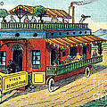 House On Wheels, 1900s French Postcard by Science Source