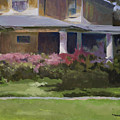 House With Azaleas by Jimmie Trotter