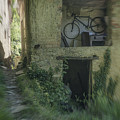 House With Bycicle by Enrico Pelos