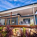 House With Deck by Darren Burton
