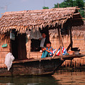 Houseboat In Mekongdelta by Silva Wischeropp