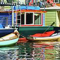 Houseboats 4 - Lake Union - Seattle by Nikolyn McDonald