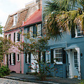 Houses In Charleston Sc by Susanne Van Hulst