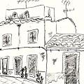 Houses In Elvas by Chani Demuijlder
