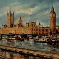 Houses  Of  Parliament  - London by Miroslav Stojkovic - Miro
