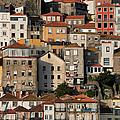 Houses Of Porto In Portugal by Artur Bogacki