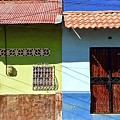 Houses On Street In Leon, Nicaragua by Will Fox