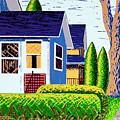 Houses Remastered by Bruce Bodden