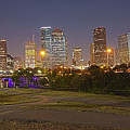 Houston Cityscape1 by James Woody