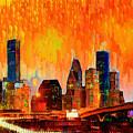 Houston Skyline 119 - Pa by Leonardo Digenio