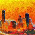 Houston Skyline 135 - Pa by Leonardo Digenio
