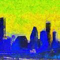 Houston Skyline 42 - Pa by Leonardo Digenio