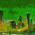 Houston Skyline 49 - Pa by Leonardo Digenio