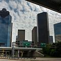 Houston Skyline by Joan Baker