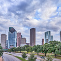 Houston Skyline View by Tod and Cynthia Grubbs