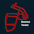 Houston Texans Retro by Joe Hamilton