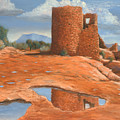 Hovenweep Reflection by Jerry McElroy
