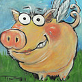 Hovering Pig by Tim Nyberg