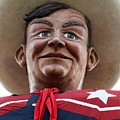 Howdy Folks - Big Tex Portrait 02 by Pamela Critchlow