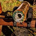 Howitzer Battle Of Honey Springs by John Straton
