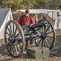 Howitzer Battle Of Honey Springs V3 by John Straton