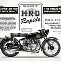 Hrd Rapide Advert by Mark Rogan