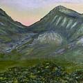 Huachuca Moutians by Gloria Sousa