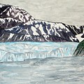Hubbard Glacier In July by Larry Wright