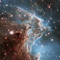 Hubble's 24th Birthday Snap Of Monkey Head Nebula by Nasa