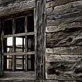 Hudson Bay Fort Window by Brad Allen Fine Art