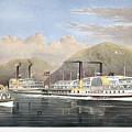Hudson River Steamships by Granger