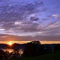 Hudson River Sunset Rockwood by Bedford Shore Photography