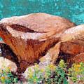Hueco Tanks Rocks by Candy Mayer