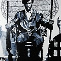 Huey Newton Minister Of Defense Black Panther Party by Lauren Luna