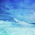 Huge And Blue by Mari Biro
