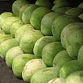 Huge Watermelons by Yali Shi